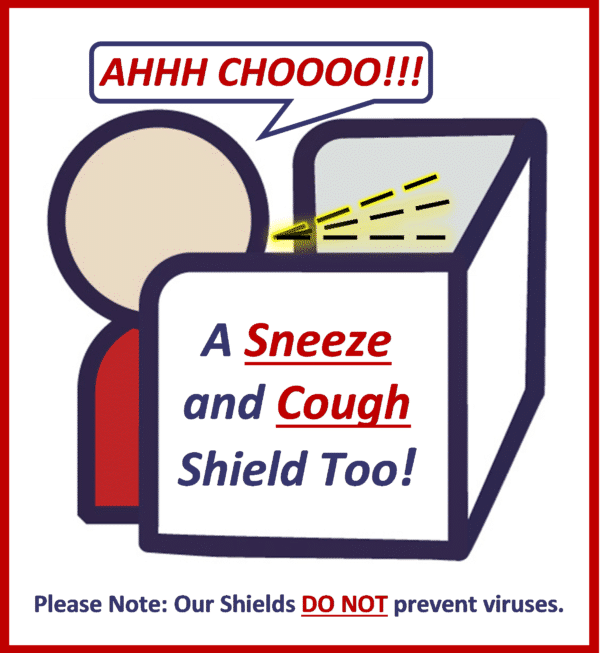 Ahh Choo - Sneeze Guard / Cough Guard - Item Pages