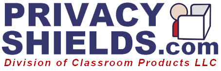 Classroom privacy shields for students