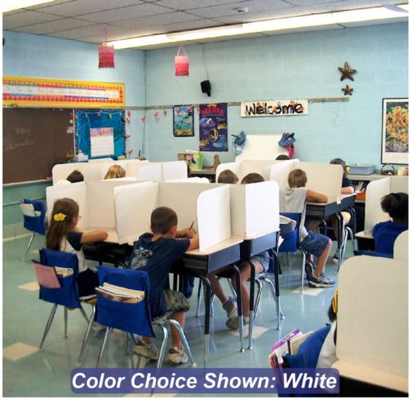 privacy shield study screens 13-inch WH classroom
