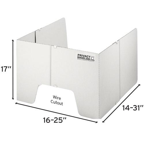 17 inch privacy shield