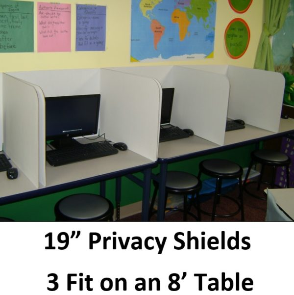 19in On Table Shields