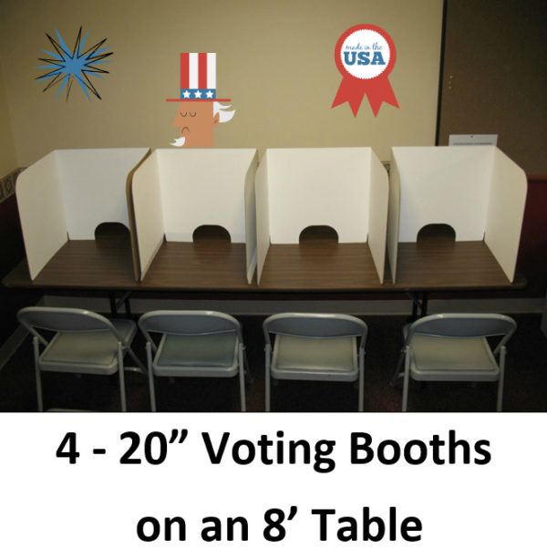 20in on Table Booths 2 Decor