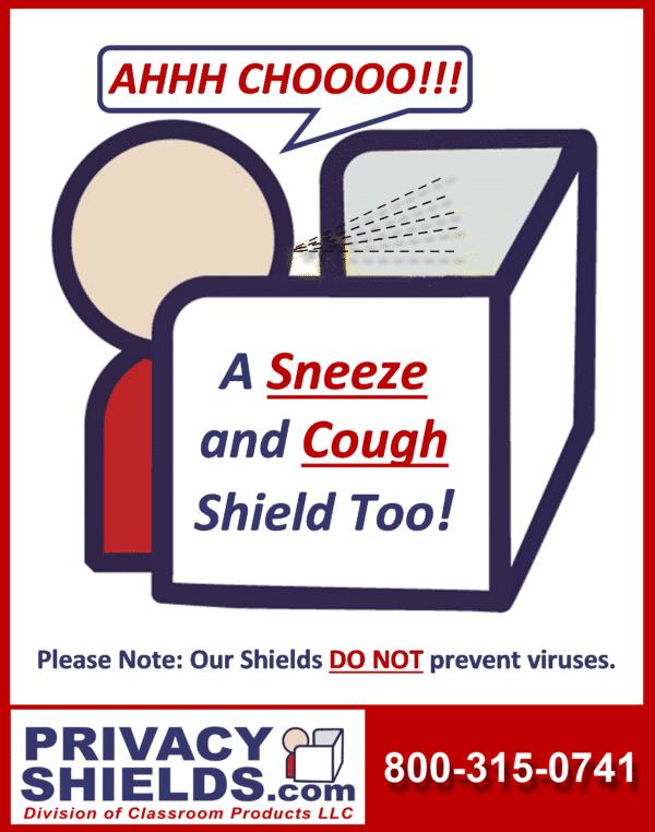 Sneezing Man Man Logo - Sneeze Guard