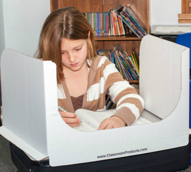 Classroom privacy shield
