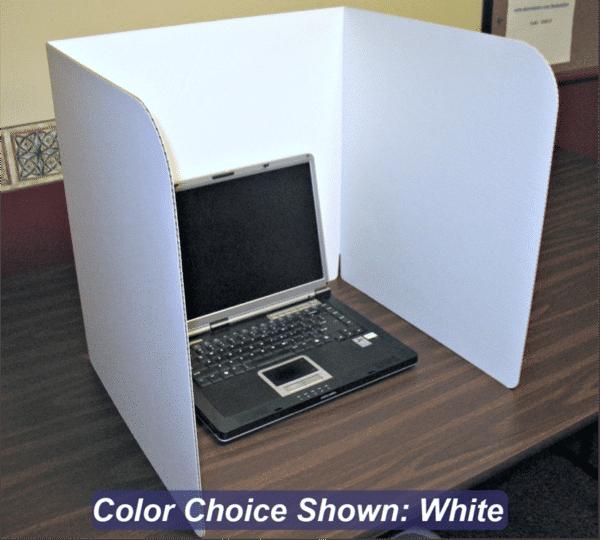 Laptop Privacy Shield 20-inch Cardboard