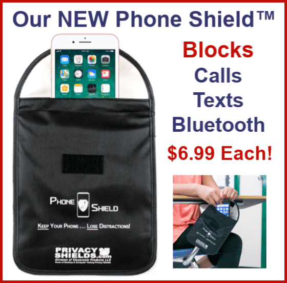 Classroom Phone Shield Signal Blocking Phone Case