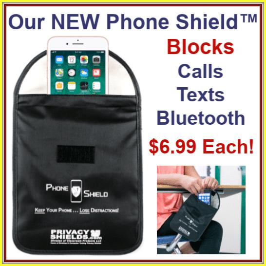 Classroom Phone Shield