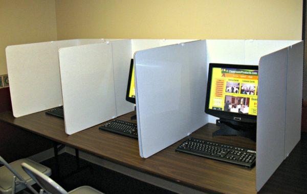 computer lab shields