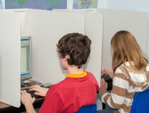 Computer privacy shields for classrooms