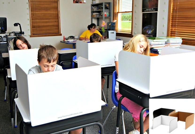 classroom carrels