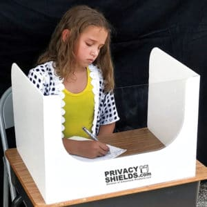 Sneeze Shields for Classrooms: Test-Taking Privacy Boards (Available in 2 Sizes) – P1310